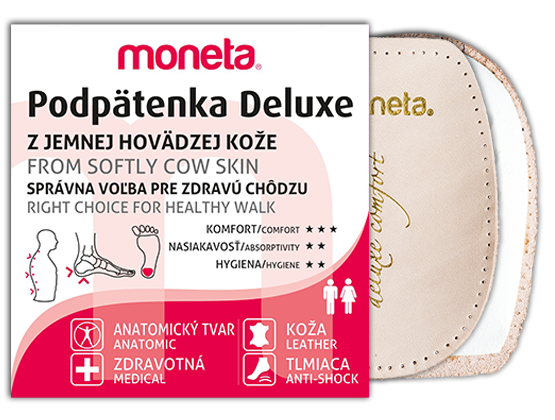 Moneta - LUX - half insoles - Podpätenka Deluxe 6bce2519ca9