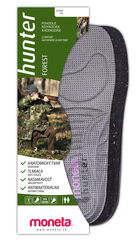 Hunter - forest insoles