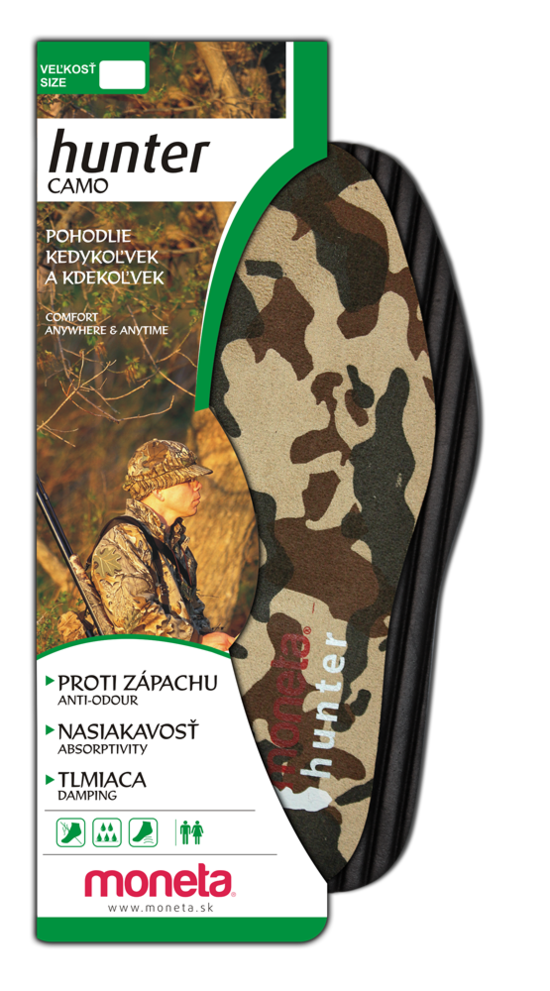 HUNTER insoles CAMO