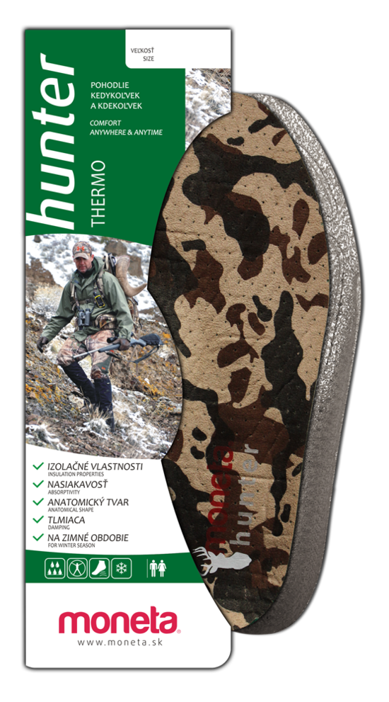 HUNTER Thermo insoles
