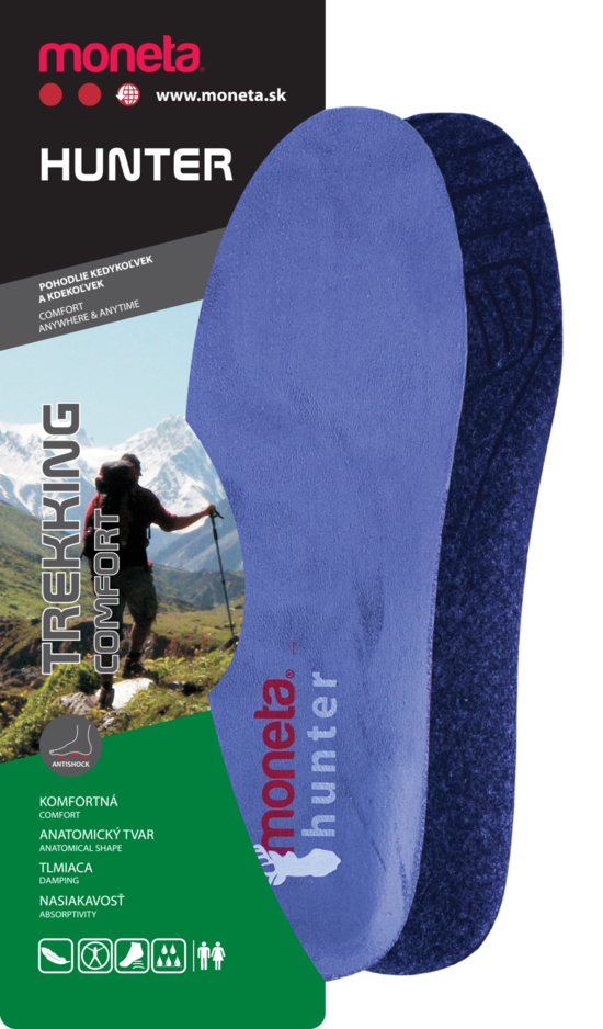 HUNTER trekking comfort insoles