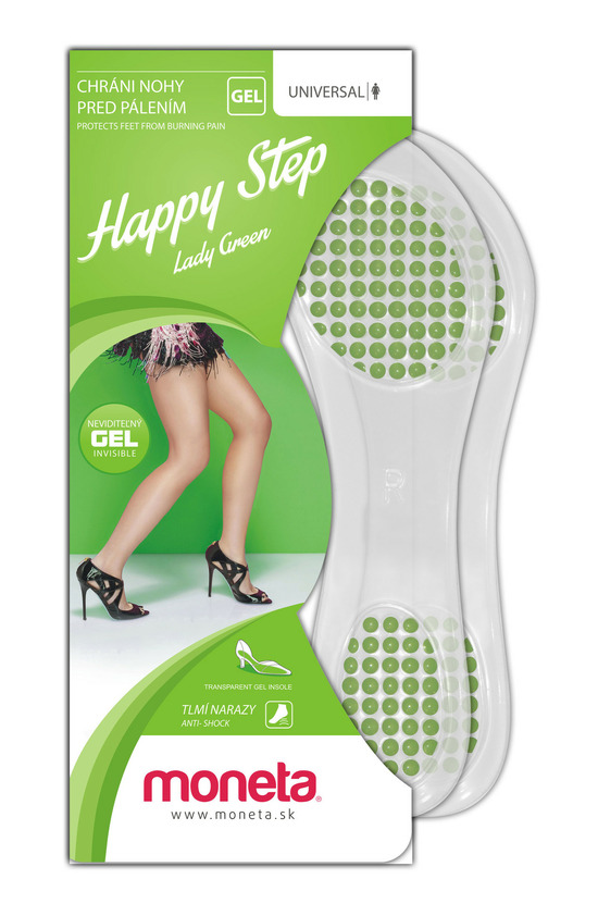 Lady Purple gel insole