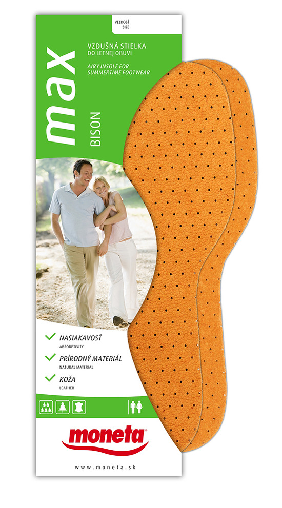 Summer insoles Bison 2 pairs in pack